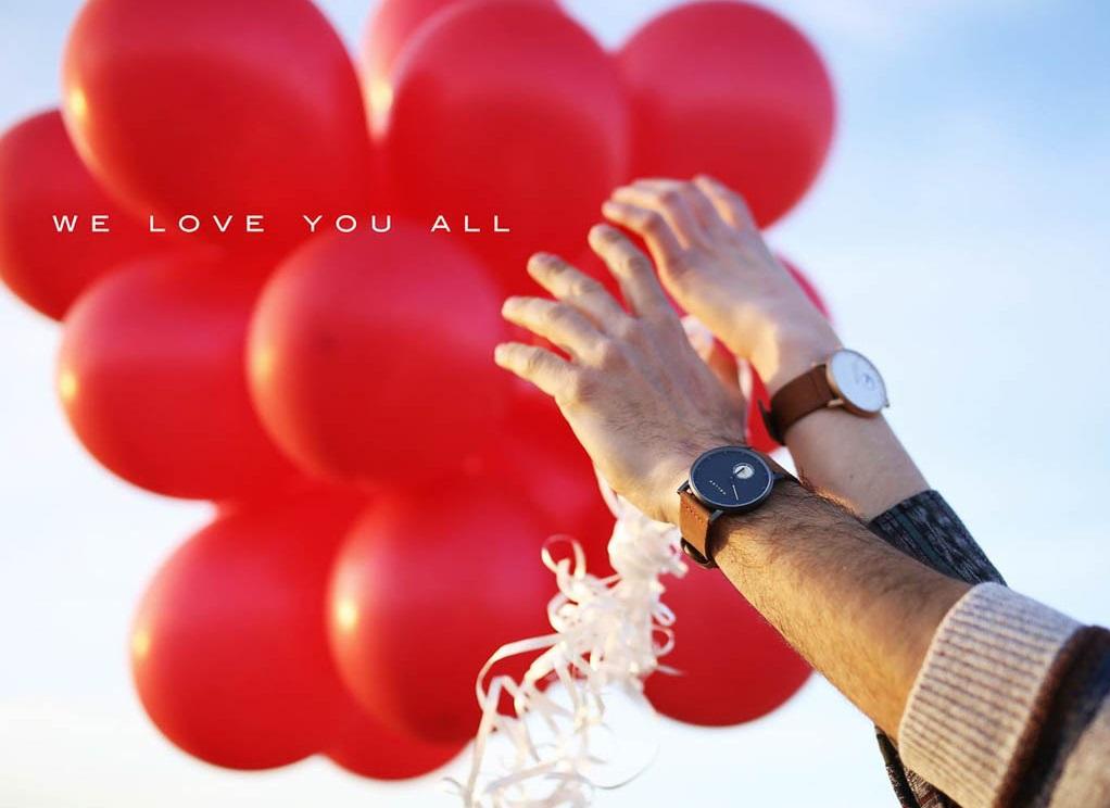 Zegarki na Walentynki